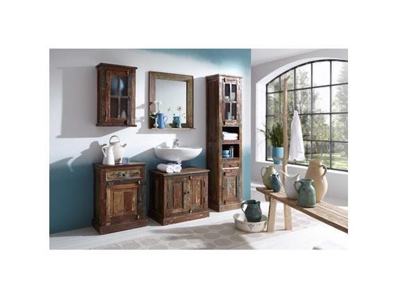 spiegel sankosh mit ablage. Black Bedroom Furniture Sets. Home Design Ideas