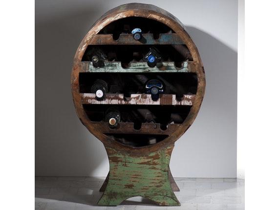 weinregal sankosh rund f r 14 flaschen sit m bel. Black Bedroom Furniture Sets. Home Design Ideas