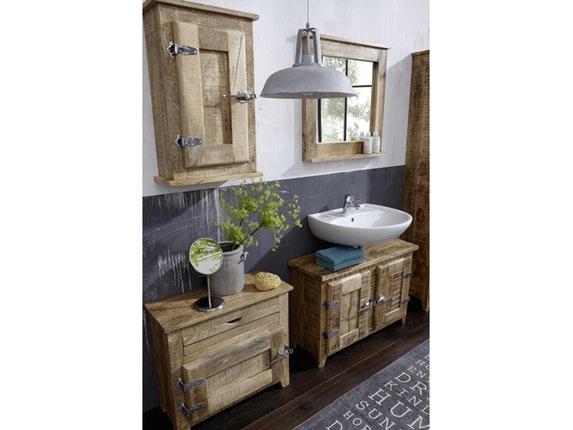 SIT Möbel Badezimmer Unterschrank Tamil Klein 10165   4
