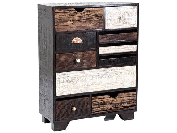kommode finca 10 schubladen used look kare design. Black Bedroom Furniture Sets. Home Design Ideas