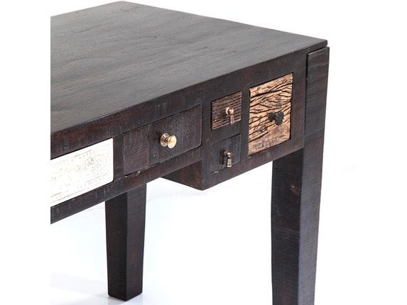schreibtisch finca mit 5 schubladen kare design. Black Bedroom Furniture Sets. Home Design Ideas