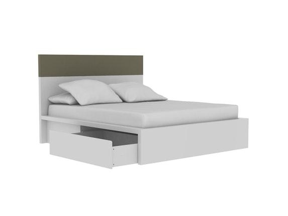 bett twist mit 2 schubladen 180x200 cm temahome. Black Bedroom Furniture Sets. Home Design Ideas