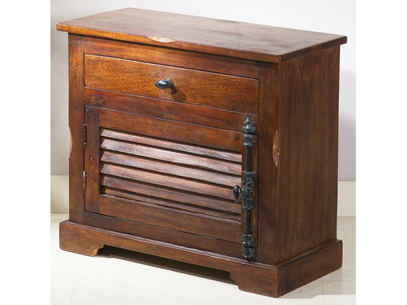 SIT Möbel Badezimmer Set Delhi Mit Schränken Und Spiegel 11809   3