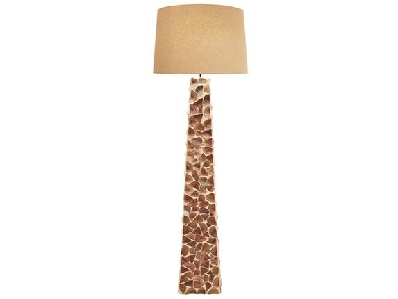 stehlampe uneaven mit rundem schirm. Black Bedroom Furniture Sets. Home Design Ideas