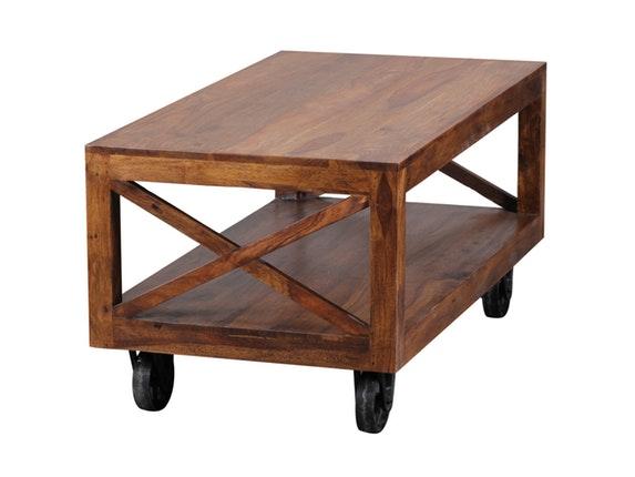couchtisch nativa 110x60 cm mit rollen salesfever. Black Bedroom Furniture Sets. Home Design Ideas
