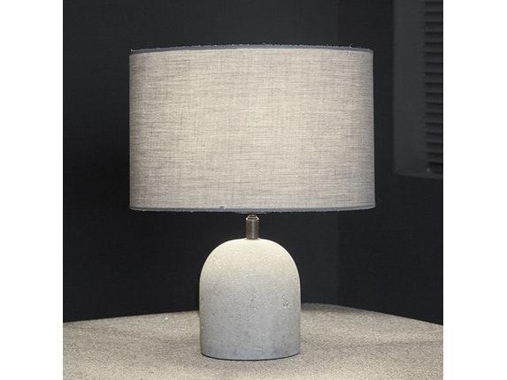 tischlampe konsa mit stoffschirm salesfever. Black Bedroom Furniture Sets. Home Design Ideas