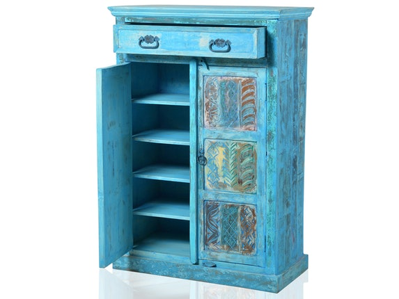 SIT Möbel Highboard Blue 2 Türen 1 Schublade n-7165 - 3