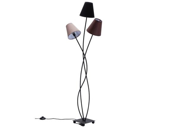 stehlampe flexible mocca tre kare design. Black Bedroom Furniture Sets. Home Design Ideas