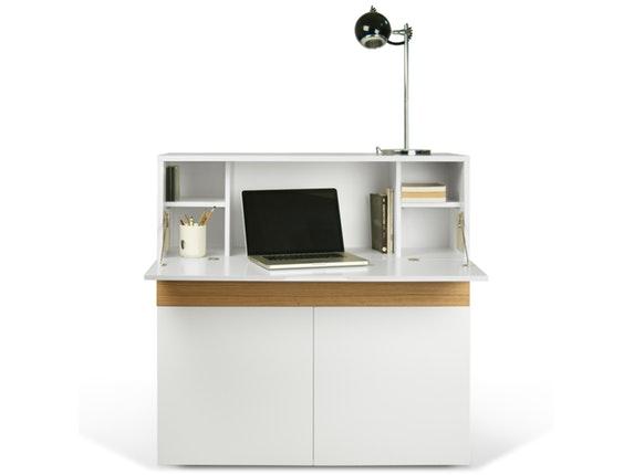 Schreibtisch schrank focus aufklappbar temahome for Schrank mit schreibtisch