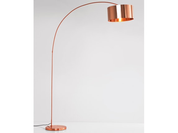 stehlampe gooseneck copper kare design. Black Bedroom Furniture Sets. Home Design Ideas