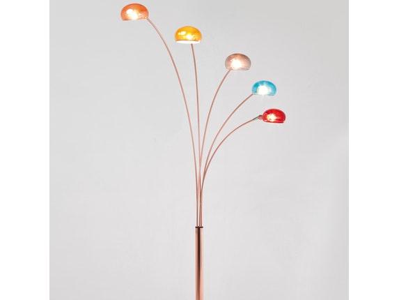 stehlampe five fingers copper coloured kare design. Black Bedroom Furniture Sets. Home Design Ideas
