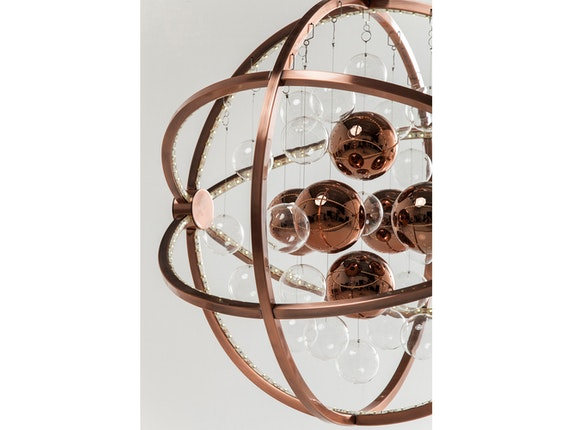 KARE Design Hängelampe Universum Copper LED n-7779 - 4