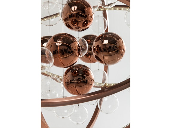 KARE Design Hängelampe Universum Copper LED n-7779 - 7