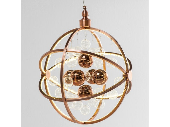KARE Design Hängelampe Universum Copper LED n-7779 - 2