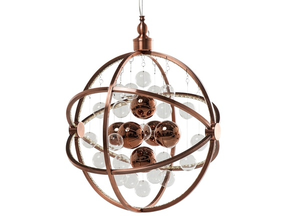 KARE Design Hängelampe Universum Copper LED n-7779 - 1