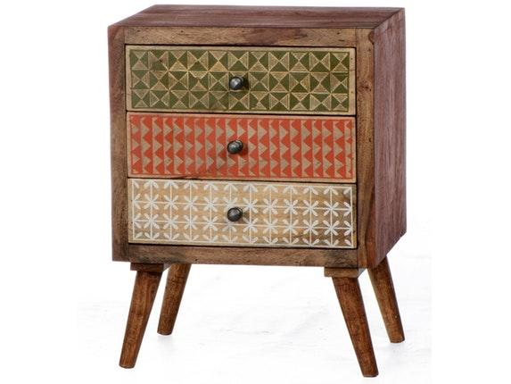 nachttisch scandi 3 schubladen sit m bel. Black Bedroom Furniture Sets. Home Design Ideas