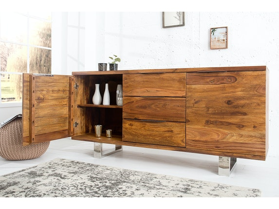 Interior Home Sideboard Forest aus Massivholz Sheesham 160 cm n-9053 - 3