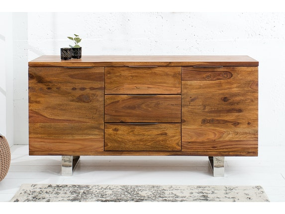 Interior Home Sideboard Forest aus Massivholz Sheesham 160 cm n-9053 - 2