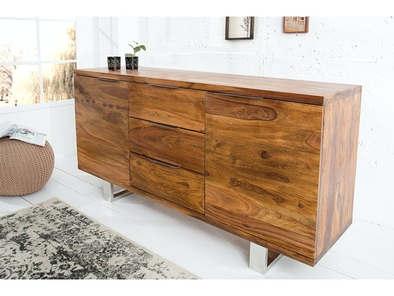 Interior Home Sideboard Forest aus Massivholz Sheesham 160 cm n-9053 - 5