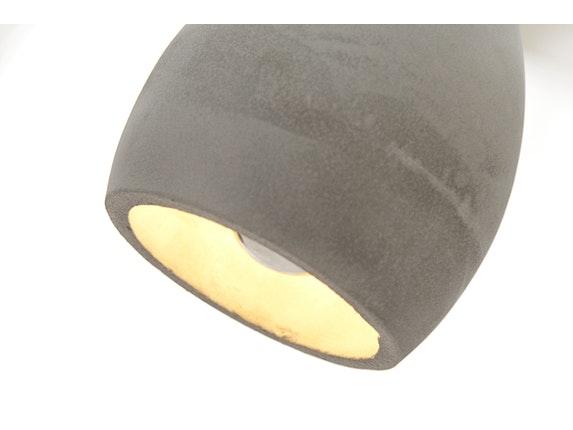h ngeleuchte term 3er grau beton. Black Bedroom Furniture Sets. Home Design Ideas