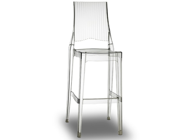 Barhocker transparent Glenda stapelbar 9724 von Scab Design