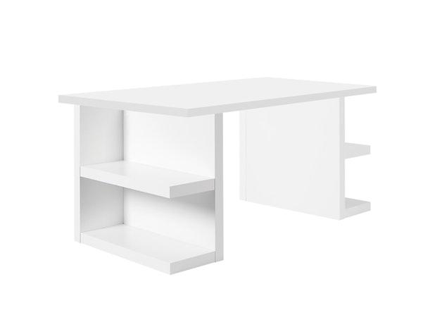 Schreibtisch Multi Storage 180 Weiß Temahome Salesfeverde