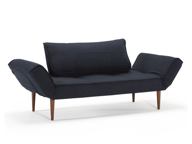 Schlafsofa 562 Twist dunkelgrün Zeal Styletto Dark n-8473-6024 von Innovation