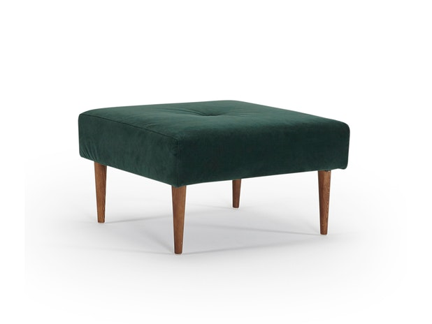 Hocker 540 Velvet waldgrün Recast Plus n-8484-6059 von Innovation