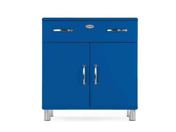 Kommode royalblau Malibu 2 Türen 1 Schublade n-8815-6805 von msp furniture