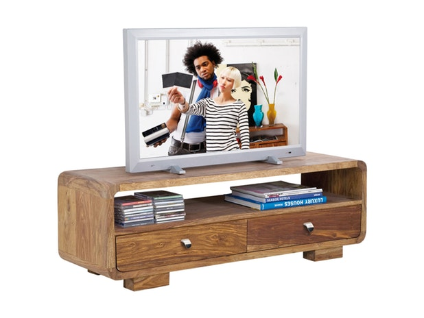 TV Board Authentico Club 2 Schubladen 6183 von KARE Design®