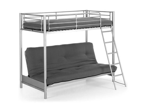 Etagenbett Metall Mit Couch : Sofa hochbett affordable mit drunter genial das