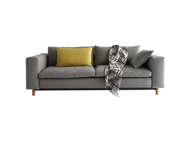 Schlafsofa Magni 521 Mixed Dance grau n-8509 von Innovation