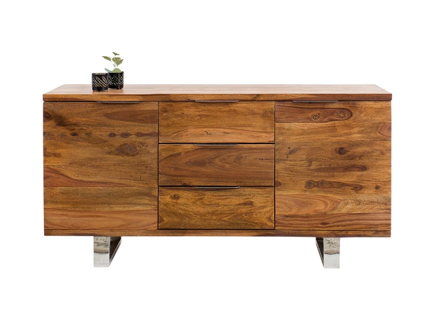 Sideboard Forest aus Massivholz Sheesham 160 cm n-9053 von Interior Home