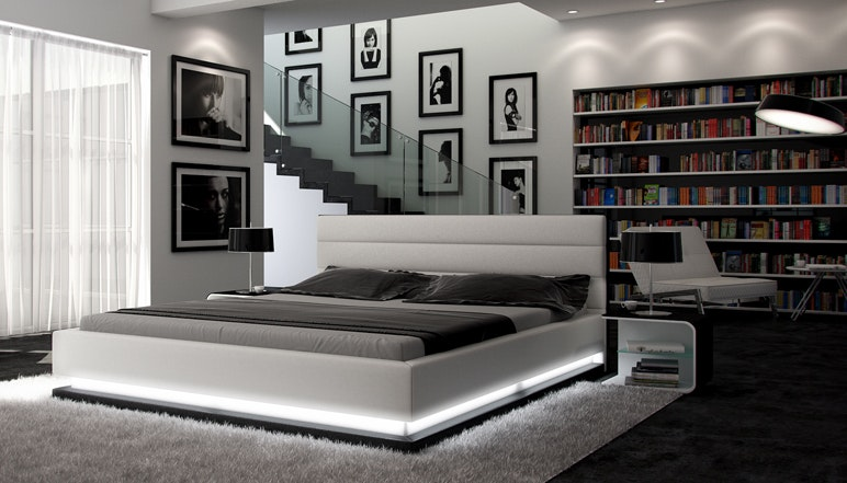 designer betten online kaufen m bel a z. Black Bedroom Furniture Sets. Home Design Ideas