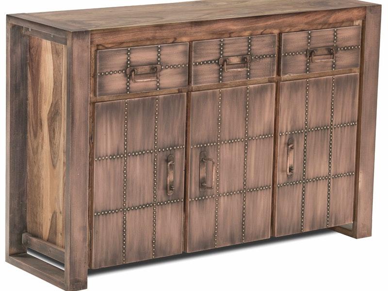Sideboard Akkon mit 3 Türen Kupfer » SIT Möbel – Salesfever.de