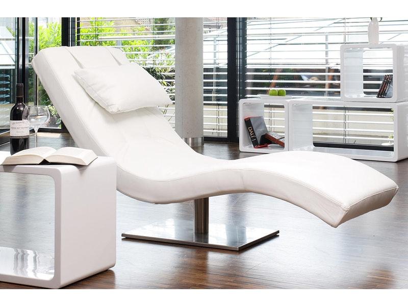 SalesFever® Liege Polsterliege Relaxliege 200 cm Modern Design TIARA