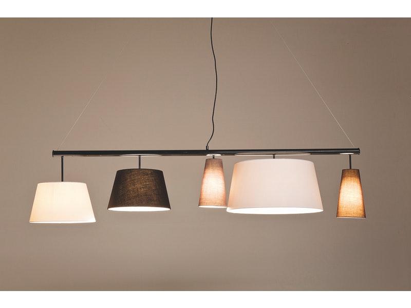 KARE Design® Hängeleuchte Parecchi Black 160