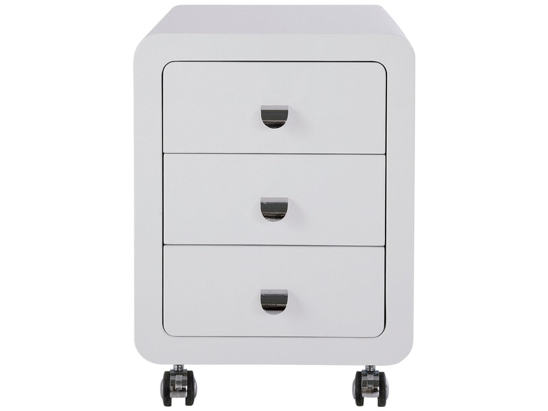 KARE Design® Rollcontainer White Club 3 Schubladen