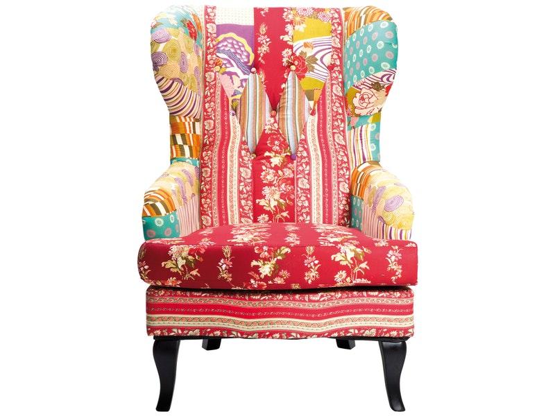 kare design ohrensessel mehrfarbig 69x134x86 cm preise. Black Bedroom Furniture Sets. Home Design Ideas