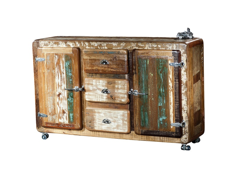SIT Möbel Sideboard Glace Shabby Chic 2 Türen