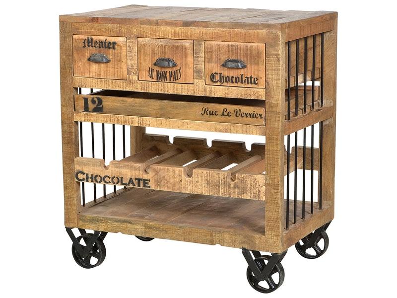 k chenwagen holz preisvergleiche erfahrungsberichte und kauf bei nextag. Black Bedroom Furniture Sets. Home Design Ideas