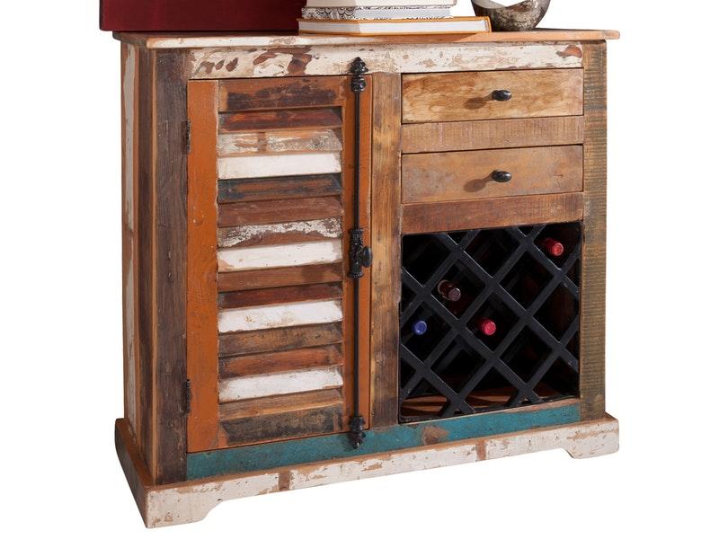 WOLF Möbel Weinkommode Yarkant für 13 Flaschen