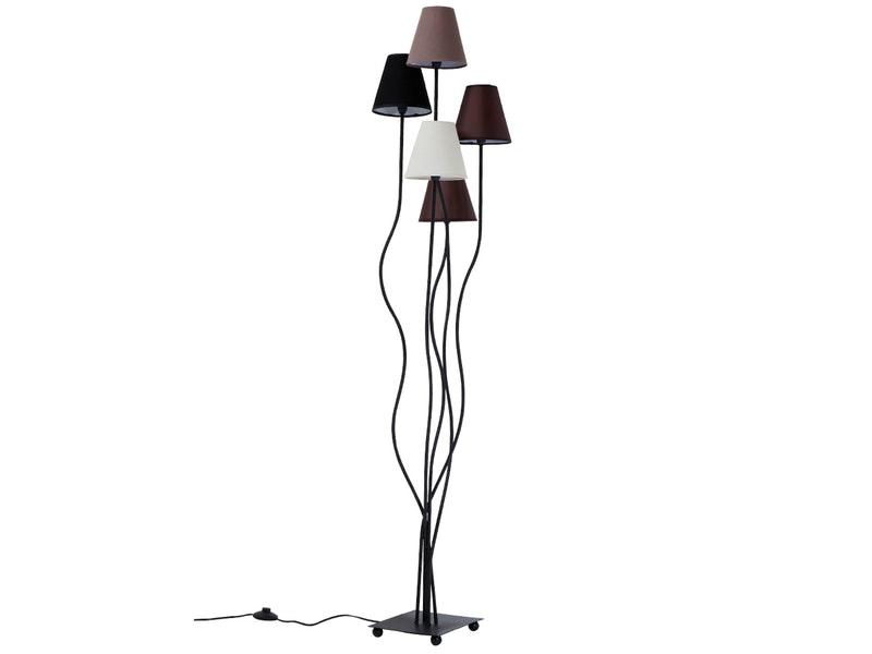 KARE Design® Stehlampe Flexible Mocca Cinque