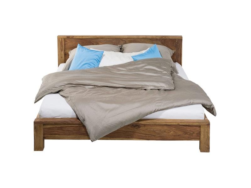 dormiente massivholz bett ponte nussbaum 200x200 cm preise und angebote. Black Bedroom Furniture Sets. Home Design Ideas