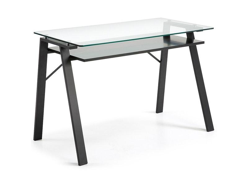 schreibtisch mit glasplatte preisvergleiche erfahrungsberichte und kauf bei nextag. Black Bedroom Furniture Sets. Home Design Ideas