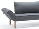 Innovation Schlafsofa 562 Twist dunkelgrün Zeal Stem n-8471-6012 Miniaturansicht - 8