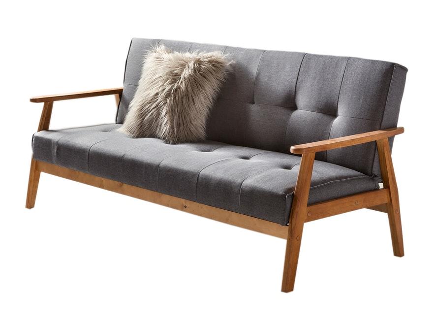Schlafsofa Ausklappbar 190 Cm Design Skandinavisch Dundal