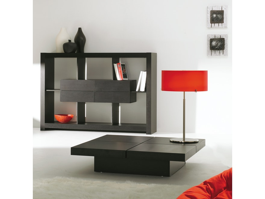 TemaHome Couchtisch Wenge Kyoto Lounge 4 Tops 822   4