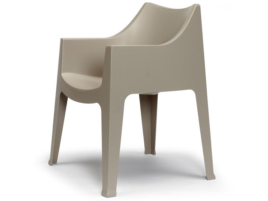 Gartenstuhl Coccolona mit Armlehnen taubengrau » Scab Design ...