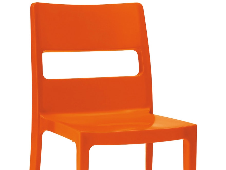 Scab Design Designer orange Stuhl Sai n-7871-5217 - 2